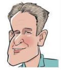 Caricature of Dr. David Barnett