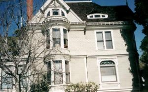 House in San Francisco painted white